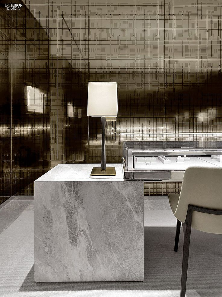 desk | study | office | mirrored wall | Mark Lash Toronto Flagship by Burdifilek | Projects