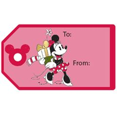 Mickey and Friends Printable Gift Tag Stickers
