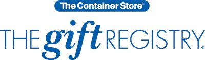The Container Store > Gift Registry Benefits