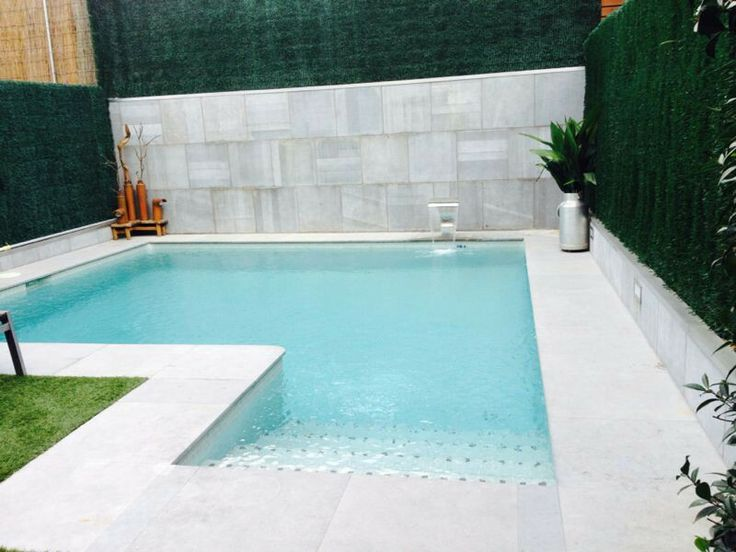 L shaped awesome inground pool designs pinterest for Backyard makeover with pool