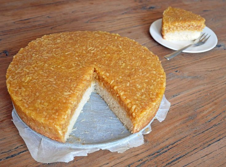 Zweedse appelcake