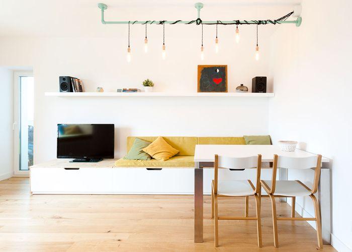 Apartamentul unor bucureșteni cu viziuni mai scandinave