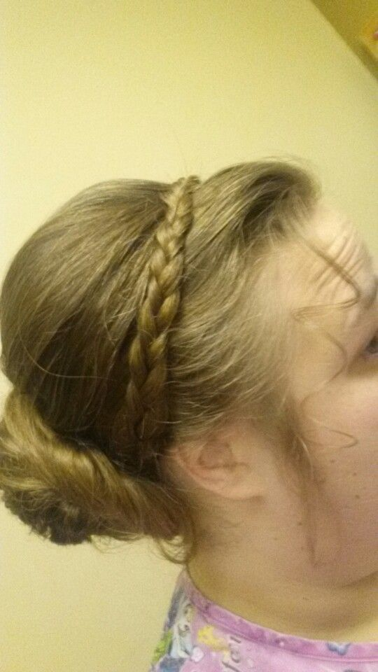 Head band braid