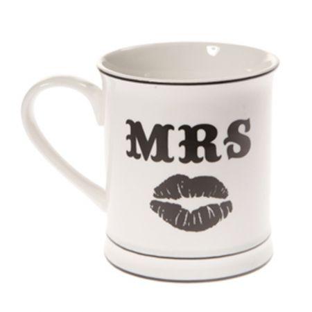 Mug - Mrs Moustache - hardtofind. $24.95 #hardtofind #hard #find #gift #colour