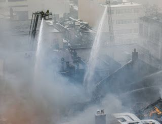 Dr. Paul on Everything: Enormous Blaze in Downtown Toronto Today