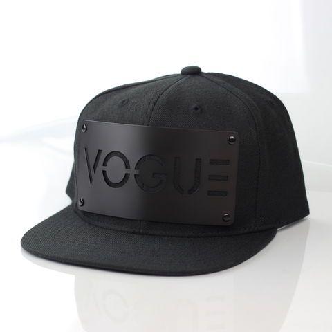 Vogue Black on Black Snapback - Karl Alley Original Hardware