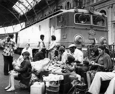 l'Estació de França de Barcelona als anys 1960.