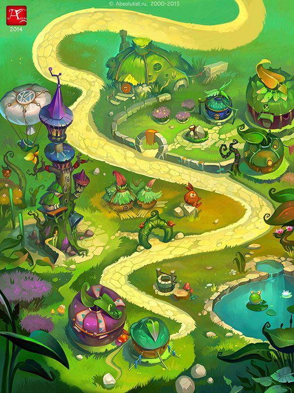 Art for Casual games on Behance