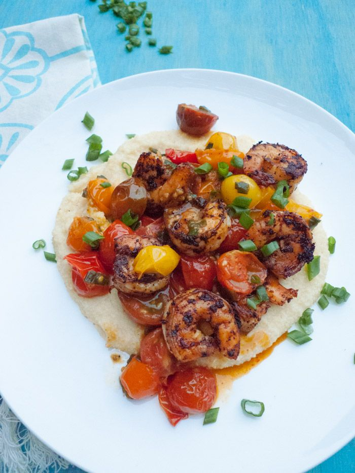 kitchen boss eggplant caponata%0A Love southern cooking  Shrimp and grits are a classic  These are crazy  healthy