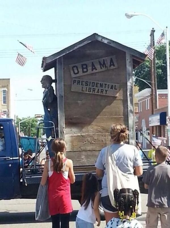 Obama Float at Nebraska Fourth of July Parade Draws Cries of Racism