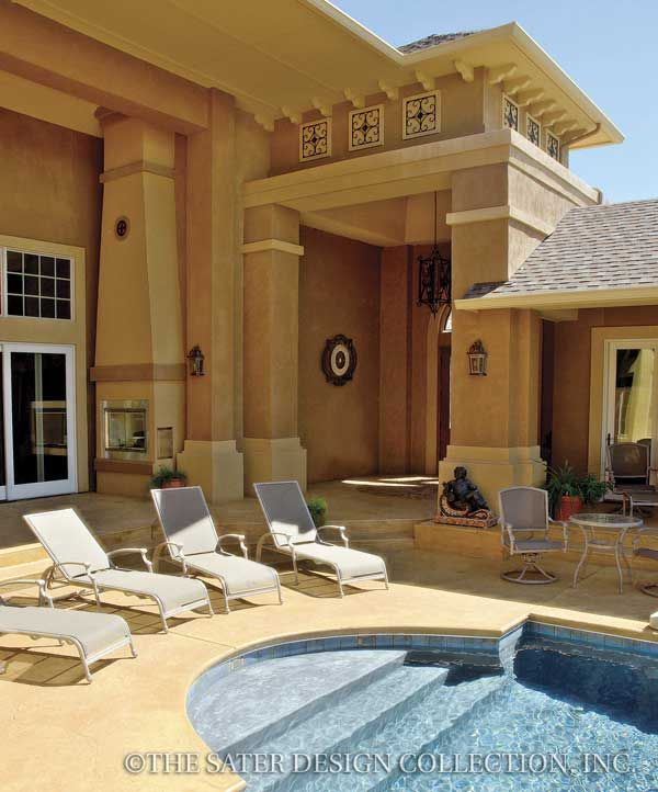 Mediterranean Style Courtyard: House Plans, Luxury House Plans And Home