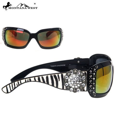 SUNGLASS - BK/CL (FMSGS-2501CL)  See more at http://www.montanawest.ca/collections/sunglasses