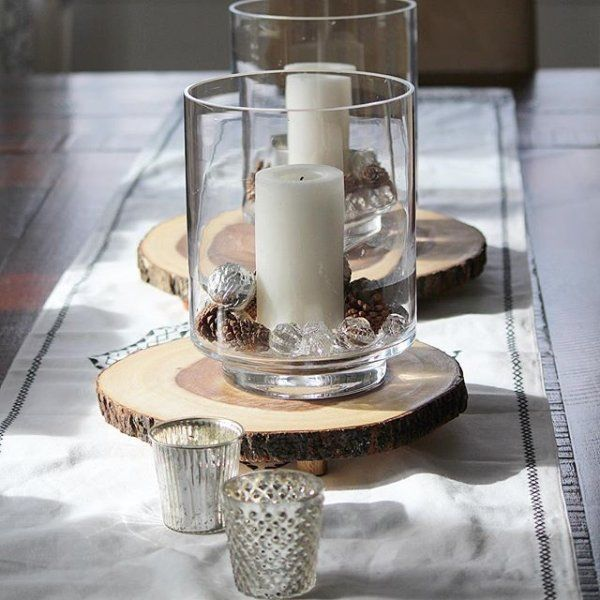 Acacia Wood Server Reviews Crate And Barrel Glass Hurricane Candle Holder Dining Table Decor Centerpiece Dinning Table Decor