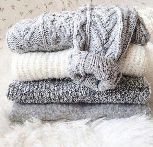 cozy grey sweaters