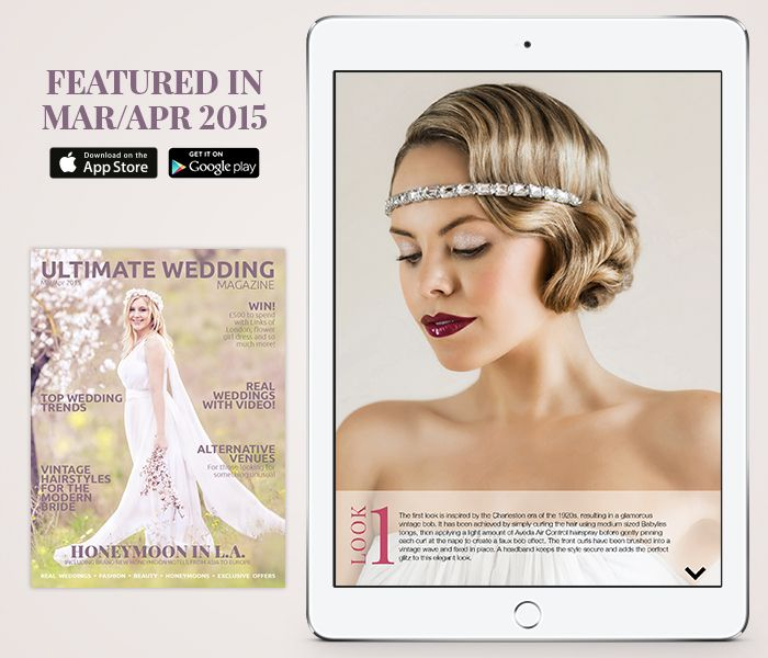 Thinking of a #vintage bridal hairstyle? We've got 4 you'll love in the new issue! #bridal #hairstyle http://bit.ly/uwmmarapr2015