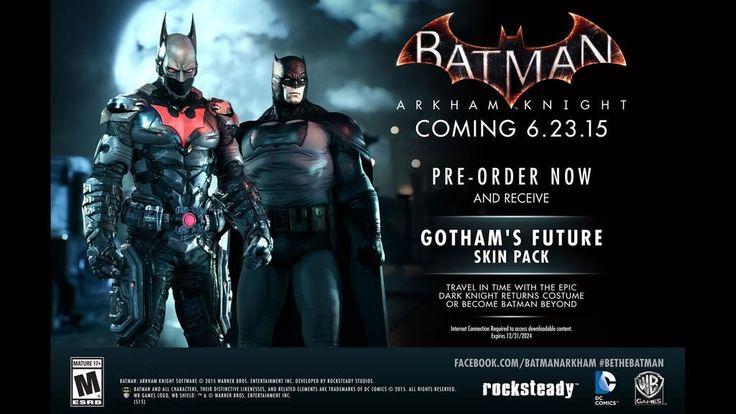 Rivelati i bonus pre-order di Batman Arkham Knight