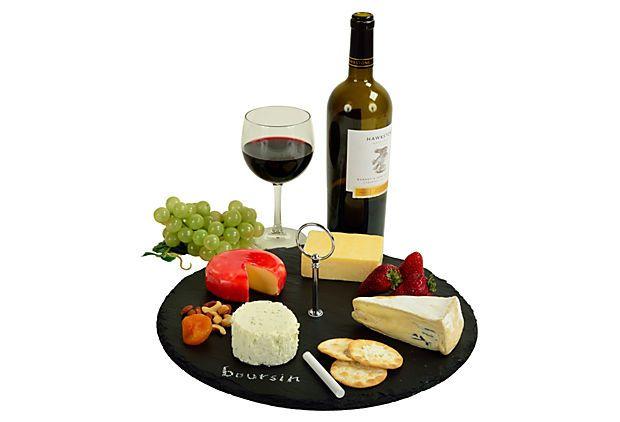 One Kings Lane - Finds Under $50 - Selva Slate Cheese Board