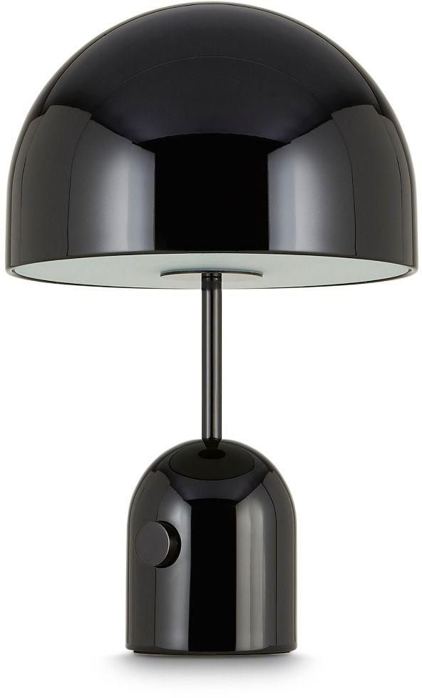 Tom Dixon Bell Table Light Black Horne Modern Table Lamp Lamp Table Lamp Lighting
