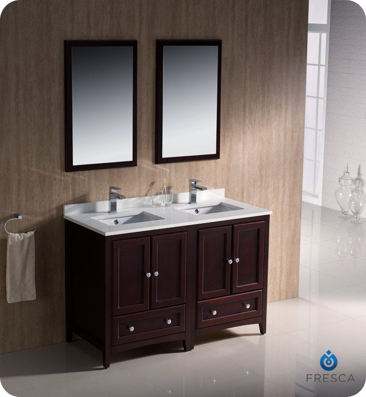 Popular Interior Top Double Sink Bathroom Vanity Clearance With