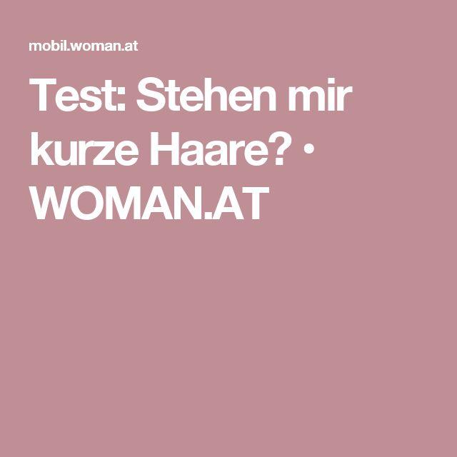 Test: Stehen mir kurze Haare? • WOMAN.AT