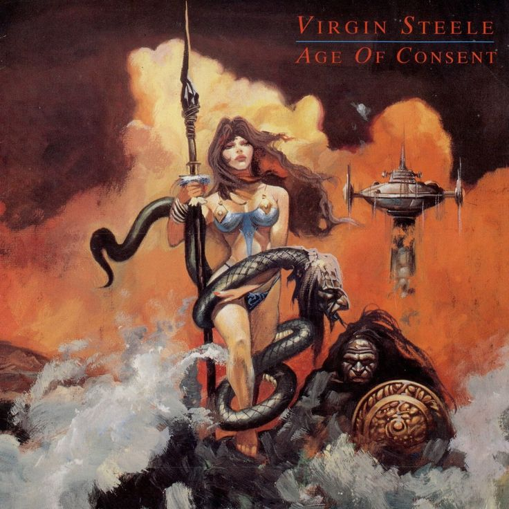 Virgin Steele — Age Of Consent (1988)   Hard Rock / Heavy Metal