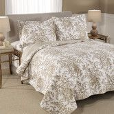 Found it at Wayfair - Bedford Reversible Cotton Coverlet in Mocha