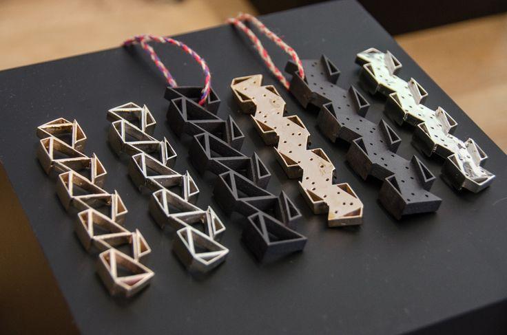 #Jewelry #wearables #pendants #JimDrain #art #silver #steel #3dprinting