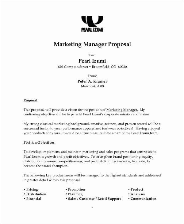 Free Job Proposal Template Fresh 8 Job Proposal Form Samples Free Sample Example Format Proposal Templates Proposal Project Proposal Template