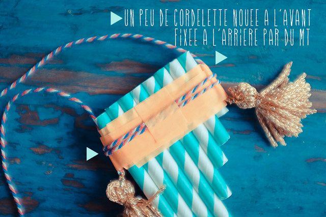 DIY un collier flute de pan – Fais le toi même
