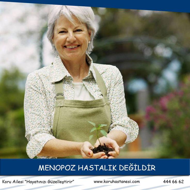 MENOPOZ HASTALIK DEĞİLDİR   Menopoz kelime anlamı olarak adetlerin kesilmesidir.  Bir yıl boyunca hiç adet görmeyen bir bayanı artık menopoza girmiş kabul ederiz.Ortalama menopoz yaşı... www.koruhastanesi.com