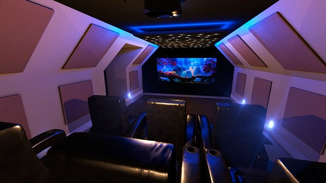 home cinema loft conversion installations homecinema pinterest cinema lofts and cinema room. Black Bedroom Furniture Sets. Home Design Ideas