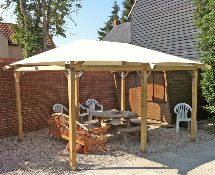 Exterior. Marvelous Outdoor Gazebo Ideas. Diy Awesome Outdoor Canopy Gazebo Idea With Freestanding Wooden Brown Rectangle Outdoor Diy Canopy Gazebo With White Roof. Gazebo Ideas. Garden Gazebo Ideas With
