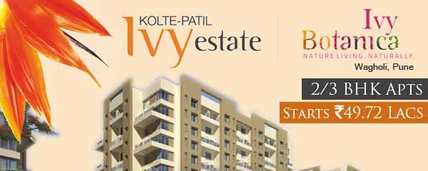 Kolte Patil Ivy Botanica - New Launch Pune City Get More Info Call 9555666555