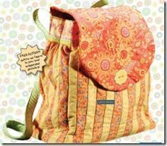 Quilted Backpack Pattern