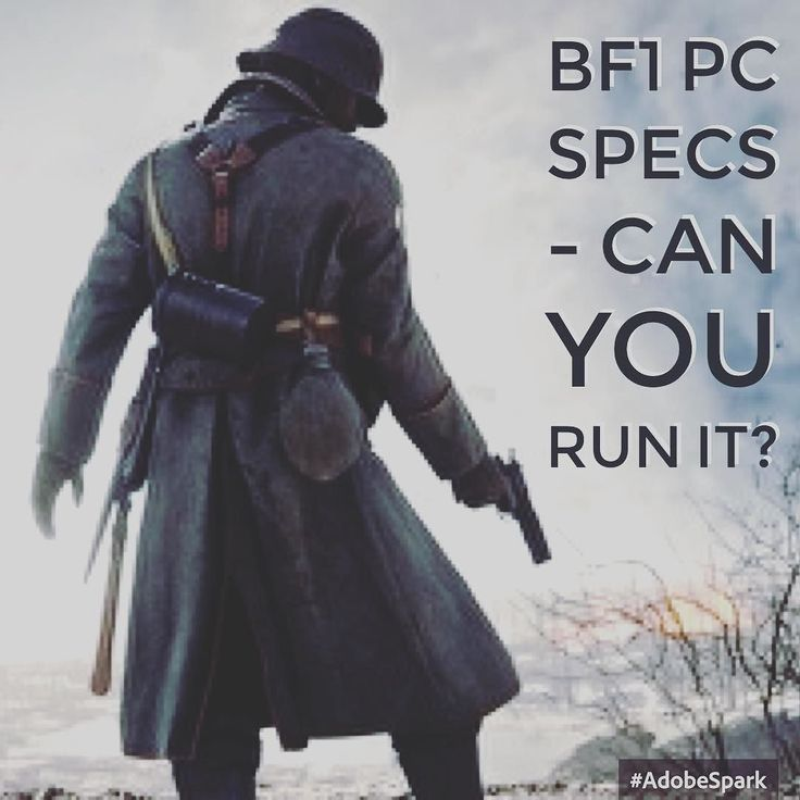 #bf1 PC specs have been revealed. If you need a #pc build click the link in my bio and check out a tonne of #gaming builds! #gamingpc #Pcgaming #like4like #share4share #share #doubletap #like #hardware