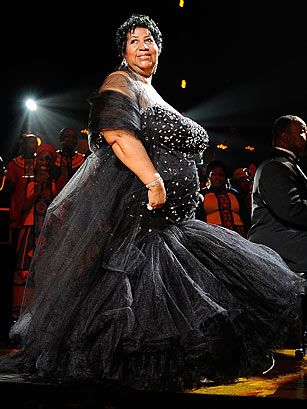 Aretha Franklin (1942-Present) The Queen of Soul, best known for demanding R-E-S-P-E-C-T, is still, at 68, a powerhouse vocalist, pianist and songwriter. Aretha Franklin was the first woman to be inducted into the Rock and Roll Hall of Fame, in 1987; she performed at President Barack Obama's Inauguration; and she holds the record for most Grammys for Best Female R&B; Vocal Performance, with 11. Perhaps most notably, she's a self-taught piano prodigy who recorded her first album at the age of…