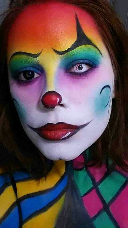 3714 Best Female Clowns And Mimes Images On Pinterest ...