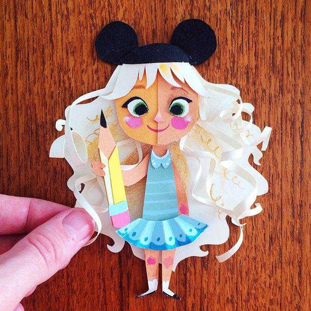 Brittney Lee, Pixar animator- Etsy paper craft superstar