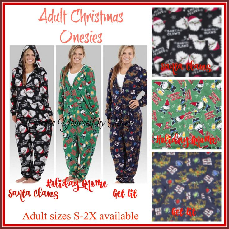 Christmas Onesie, Adult Christmas Onesie, Christmas Union Suit, Christmas Pajamas by ExpressYourselfbySta on Etsy