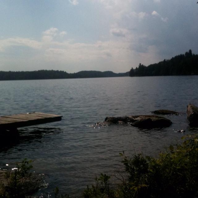 Lake Penache, Ontario Canada. Where I spent my childhood <3