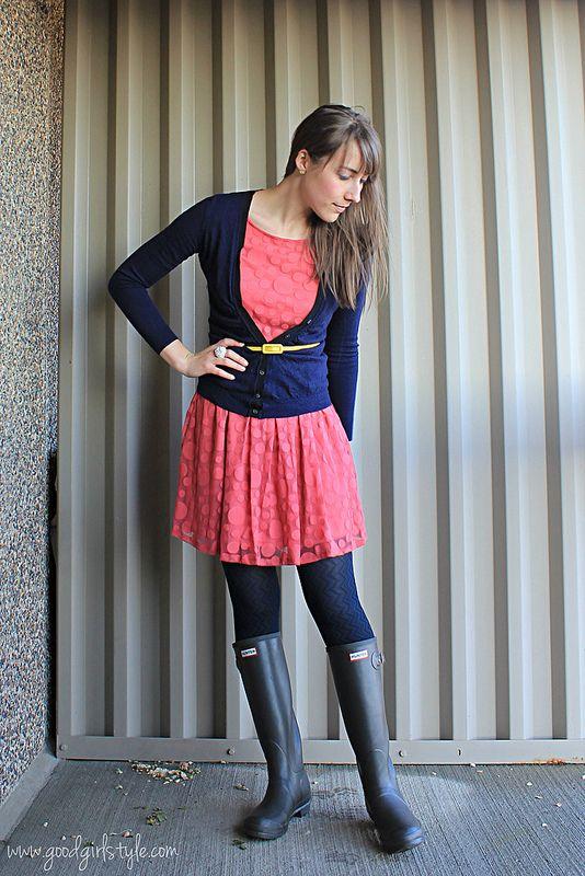 Polka Dots, Zig Zags and Daisies | Wellies rain boots ...