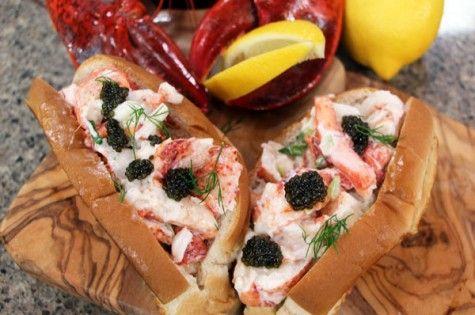 Classic Canadian lobster rolls