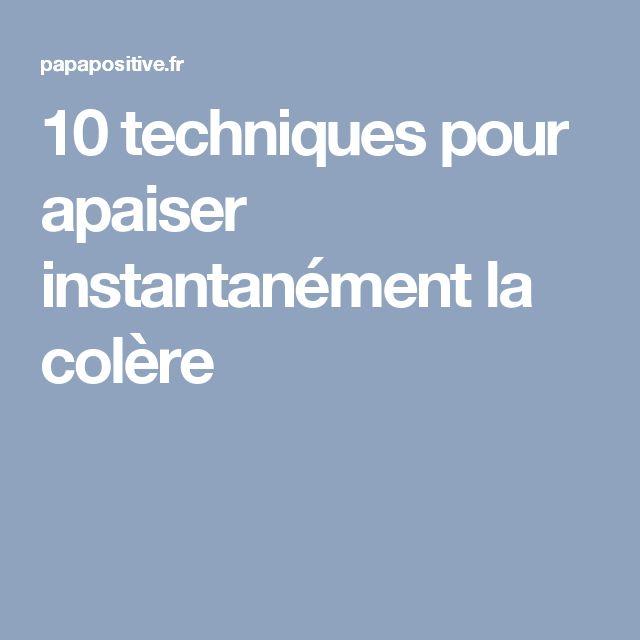10 techniques pour apaiser instantanément la colère