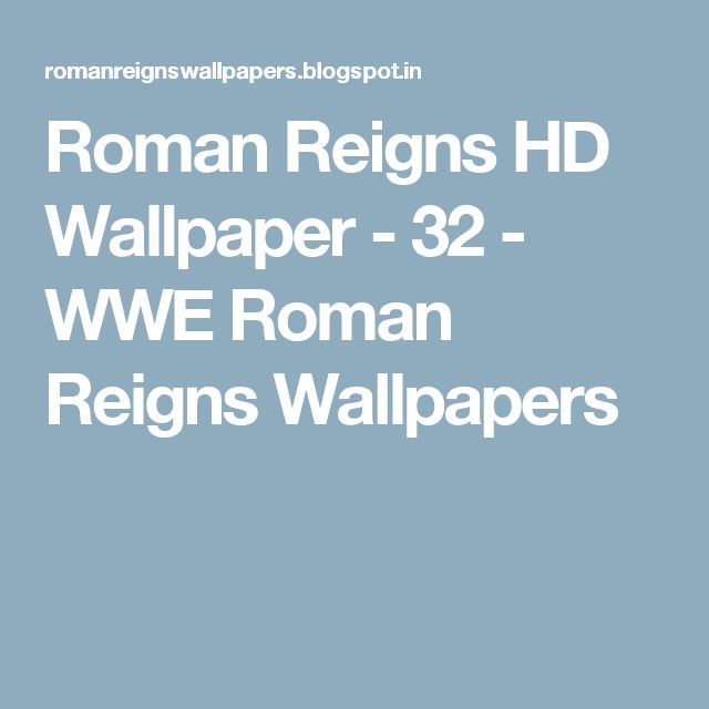 Roman Reigns HD Wallpaper - 32 - WWE Roman Reigns Wallpapers
