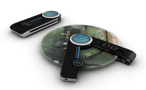 MP3 and CD player. Very cool