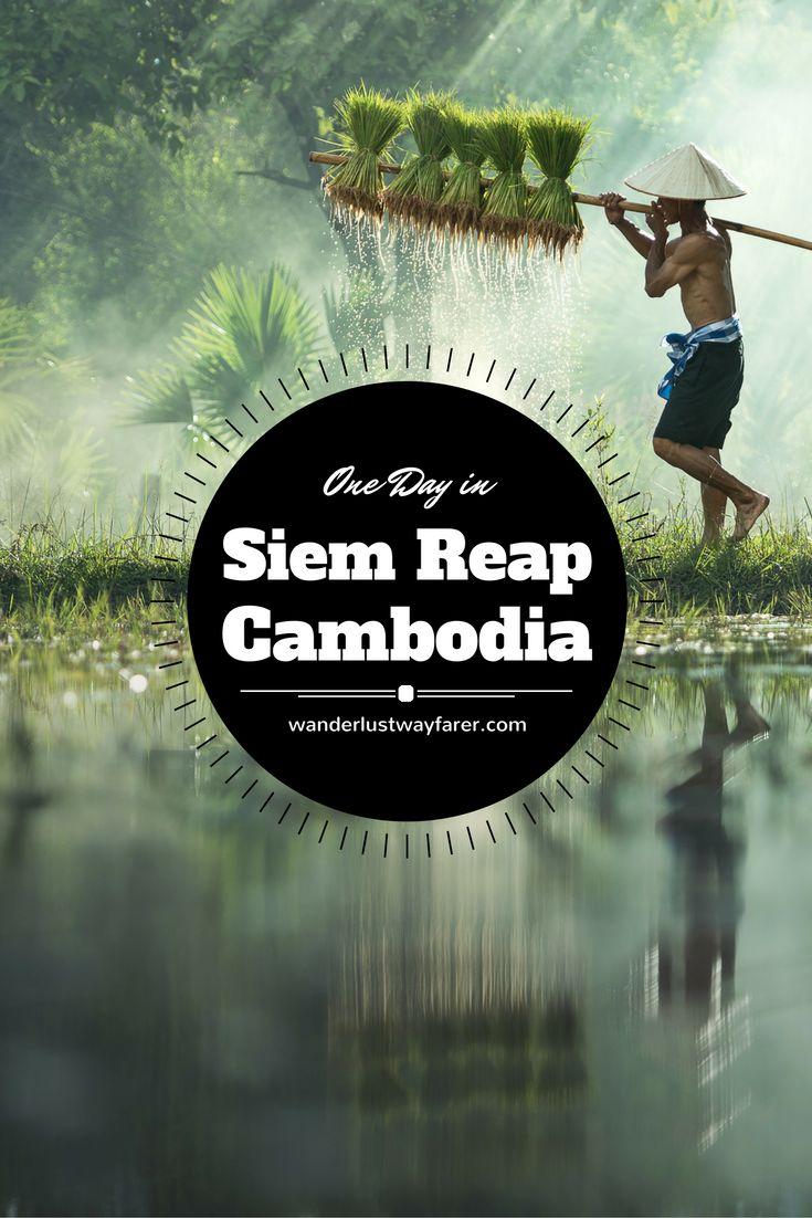 Spend 1 perfect day in Siem Reap beyond the temples of Angkor Wat.