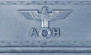 ADOLF HITLER SILVER 925 COMMEMORATIVE GIFT PHOTO FRAME MARKED SIGNATURE GERMAN WW2 PRICE $9999