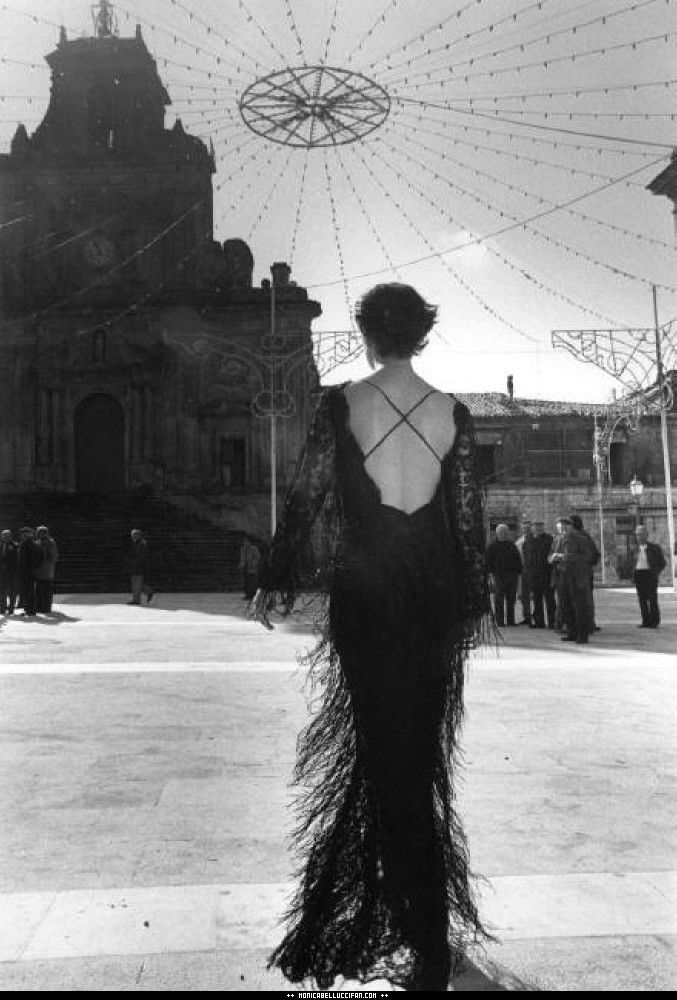 Monica Bellucci by Ferdinando Scianna 1991