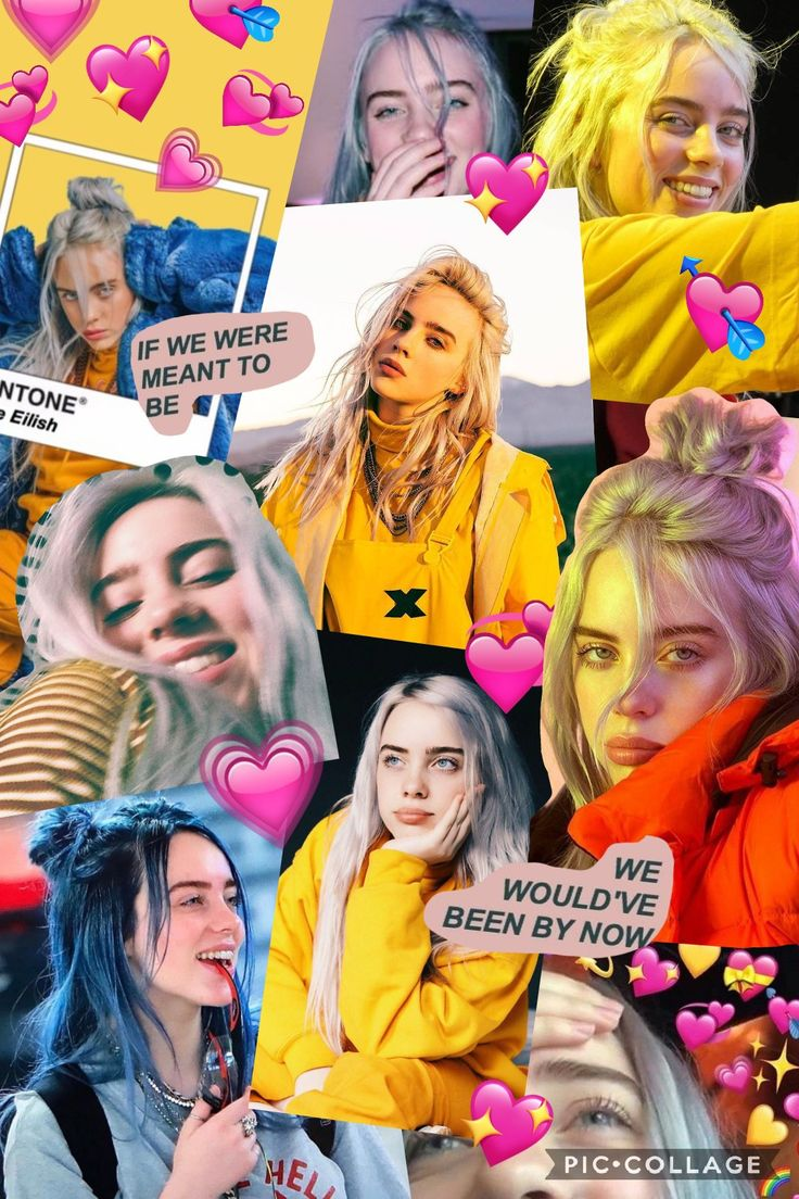 Billie eilish collage wallpaper made by me! Feel free to