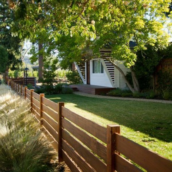 Wooden Fence Designs Beautiful Exterior Solutions Holzzaun
